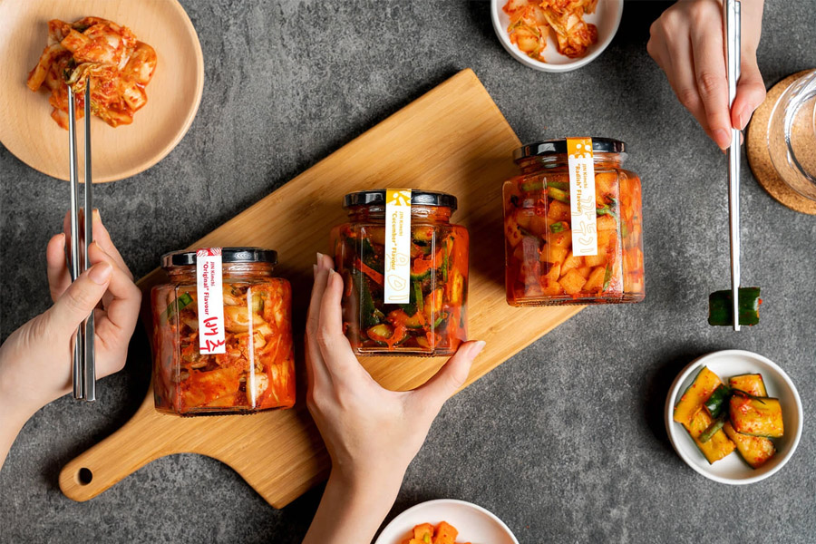 Jin Kimchi is an online store to get homemade Kimchi in Singapore